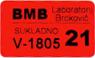 primjer sukladne naljepnice BMBa